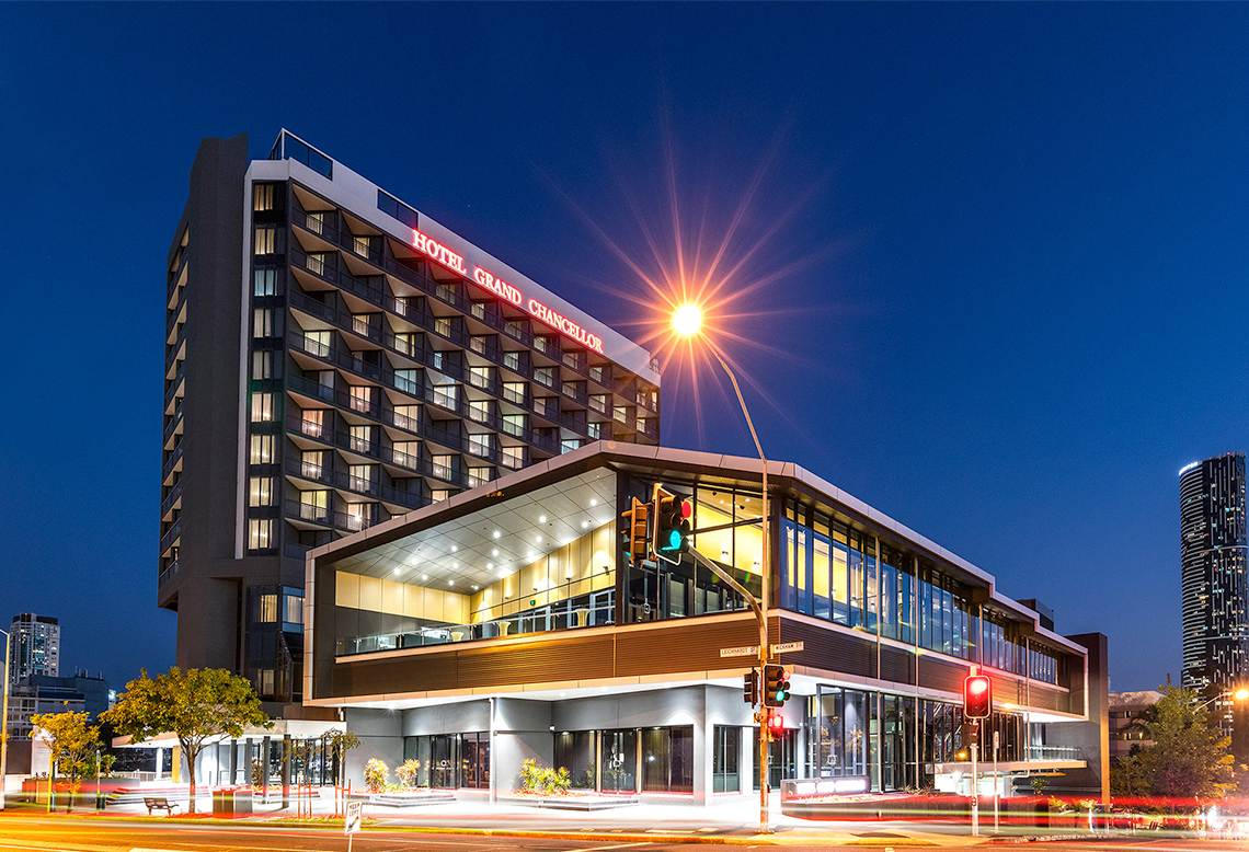 Grand Chancellor Hotel Projects Cottee Parker Architects