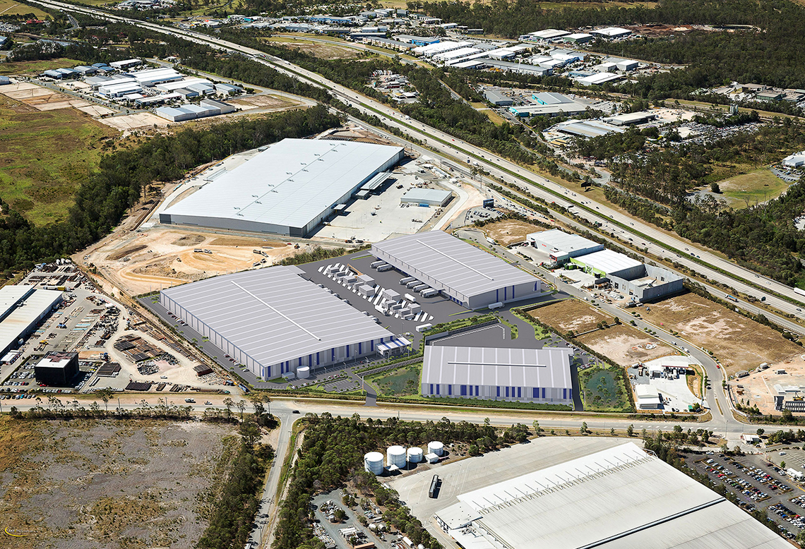 Stockland Industrial Warehouse in Yatala