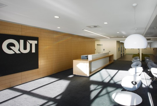 QUT Fitout Synergy Building