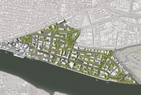 Portside East & West Masterplan