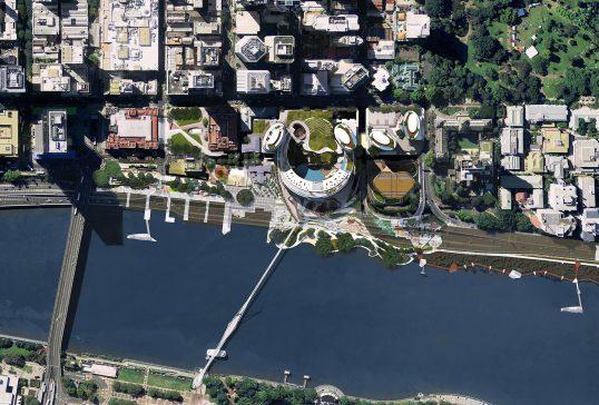Queen's Wharf Brisbane Masterplan